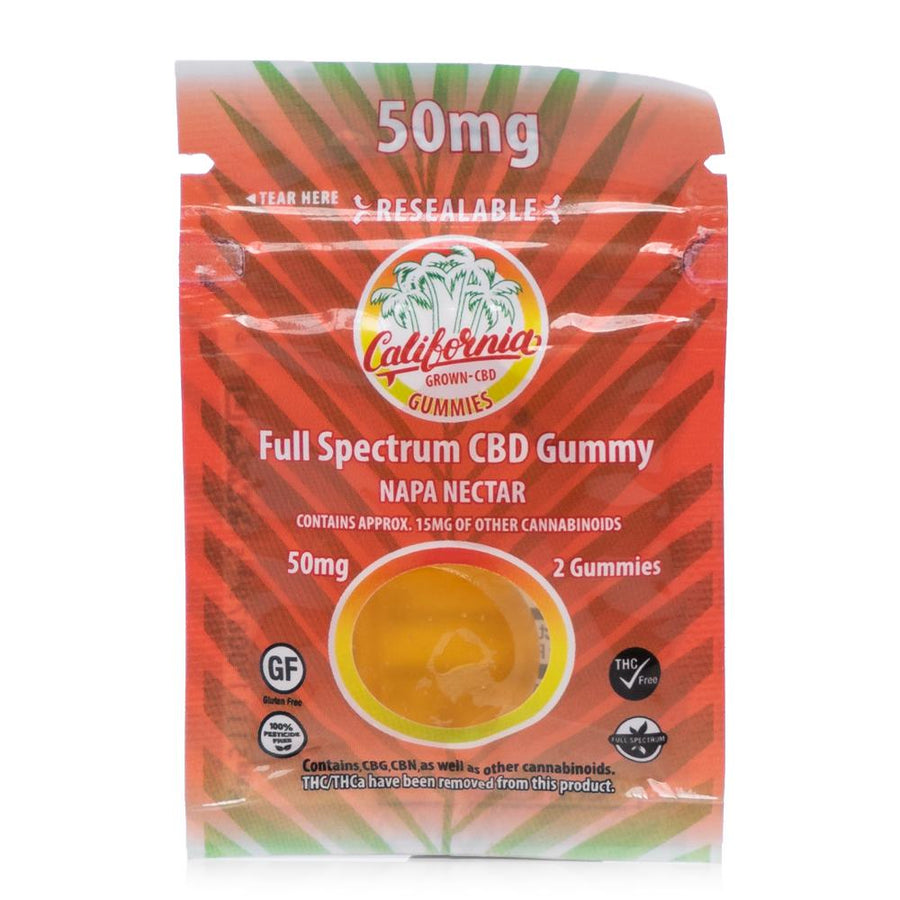 California Grown CBD Gummies 50mg - Ultimate CBD