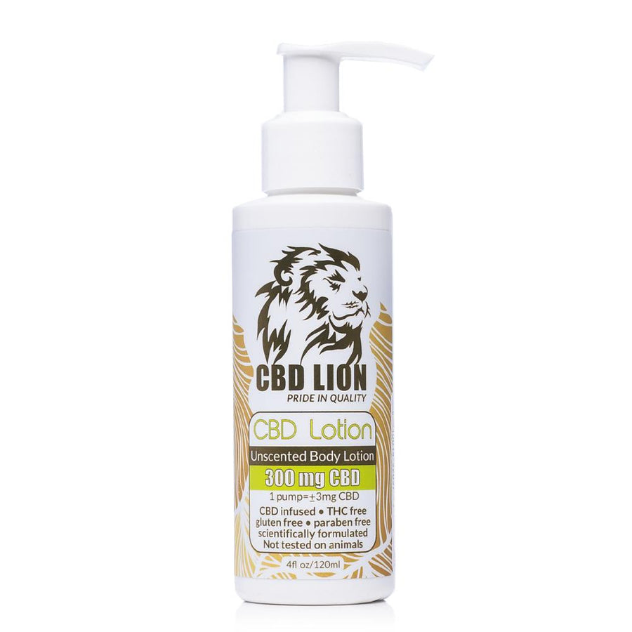 CBD Lion Body Lotion 300mg - Ultimate CBD