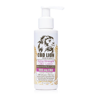 CBD Lion Body Lotion 900mg - Ultimate CBD