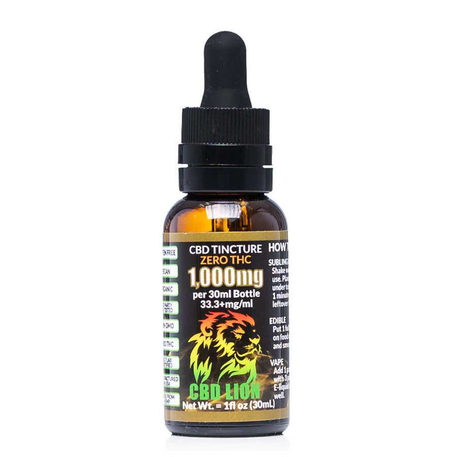 CBD Lion Tincture 1000mg - Ultimate CBD