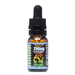 CBD Lion Tincture 250mg - Ultimate CBD