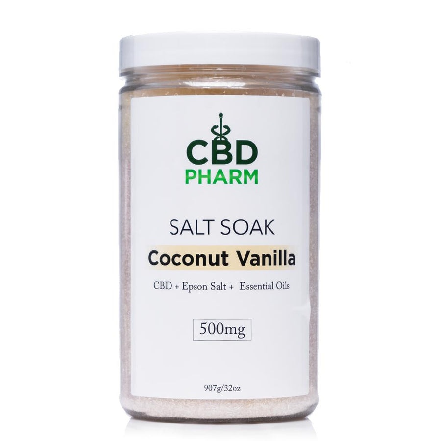 CBD Pharm Coconut Vanilla Salt Soak 500mg - Ultimate CBD
