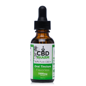 CBD Pharm Flavorless Tincture 5000mg - Ultimate CBD