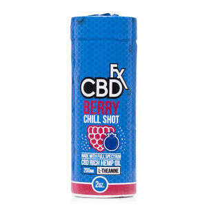 CBDfx Berry Chill Shot 20mg - Ultimate CBD