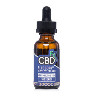 CBDfx Blueberry Pineapple Lemon Tincture 500mg - Ultimate CBD