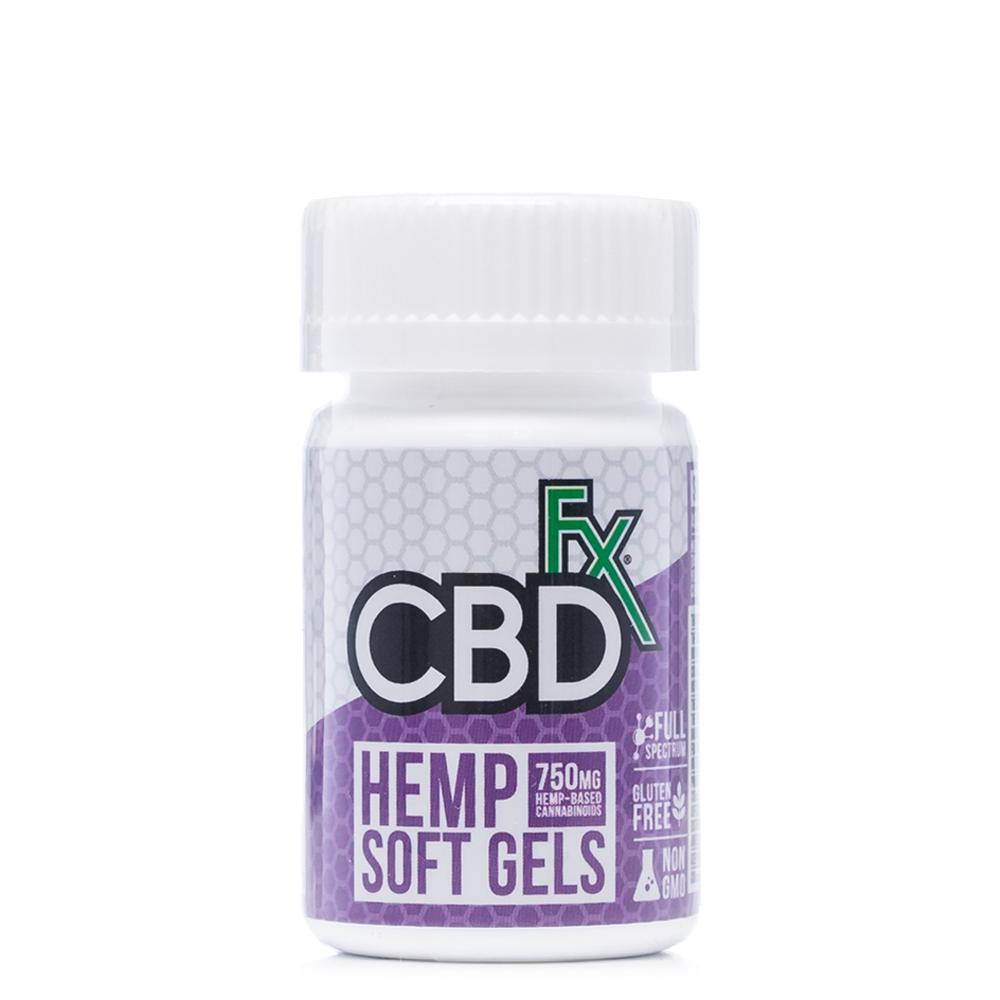 CBDfx Hemp Capsules 750mg - Ultimate CBD