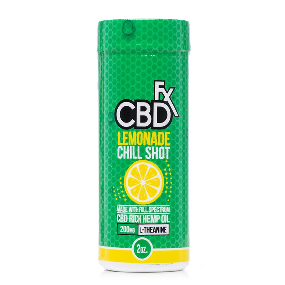 CBDfx Lemonade Chill Shot 20mg - Ultimate CBD