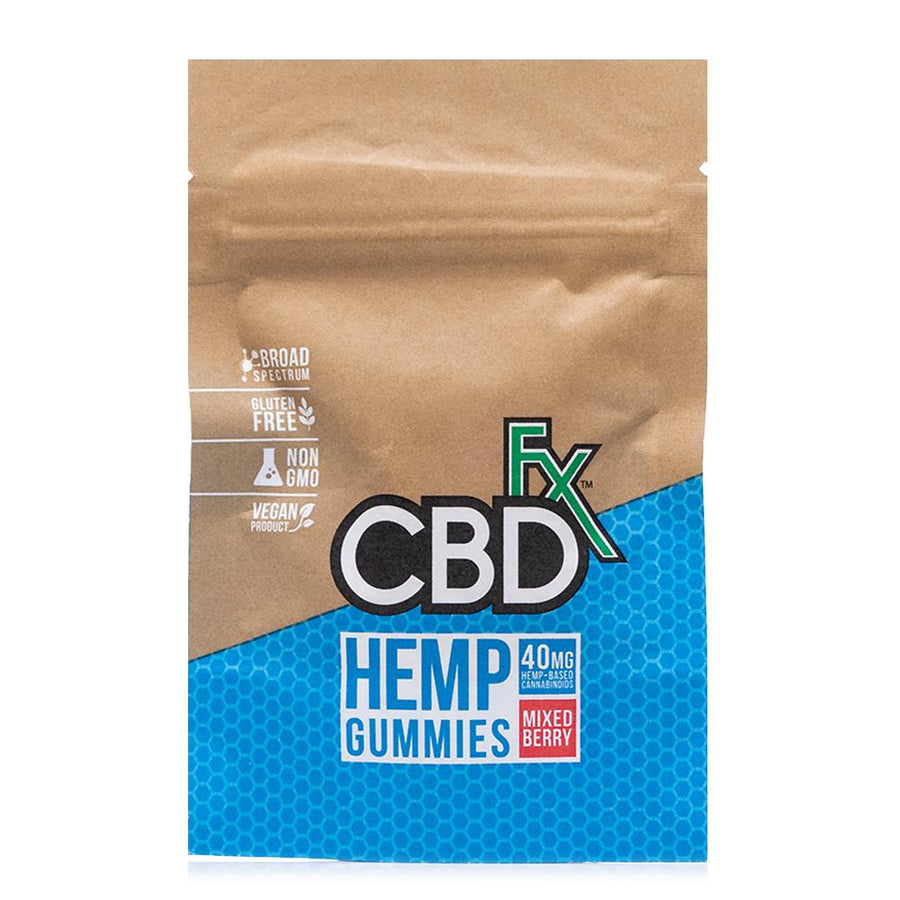 CBDfx Mixed Berry Gummy Bears 40mg - Ultimate CBD