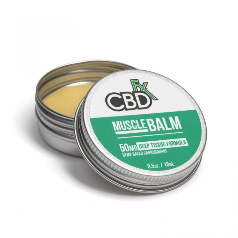 CBDfx Muscle Mini Balm 50mg - Ultimate CBD