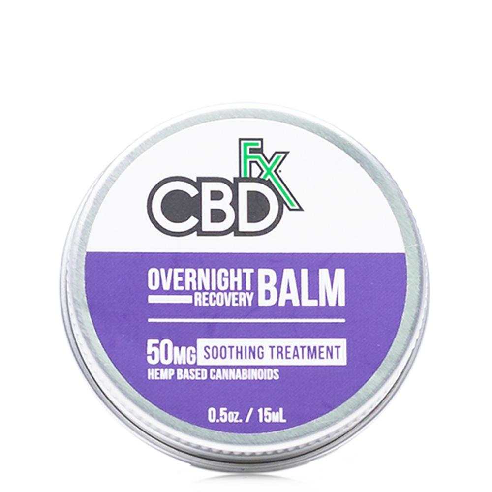 CBDfx Overnight Recovery Mini Balm 50mg - Ultimate CBD
