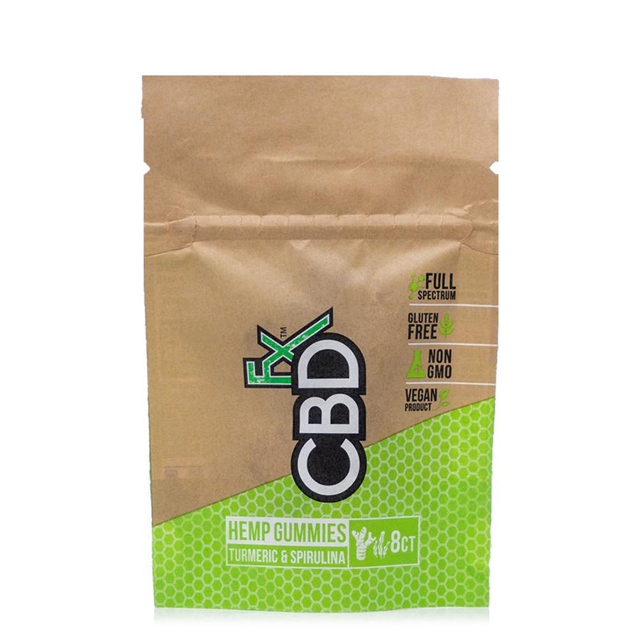 CBDfx Turmeric & Spirulina Gummy Bears 40mg - Ultimate CBD