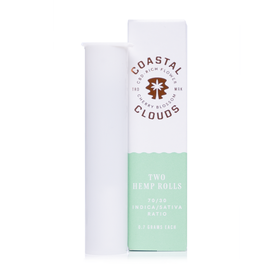 Coastal Clouds Cherry Blossom Pre-Rolls 2 Pack - Ultimate CBD