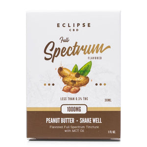 Eclipse CBD Peanut Butter Tincture 1000mg - Ultimate CBD