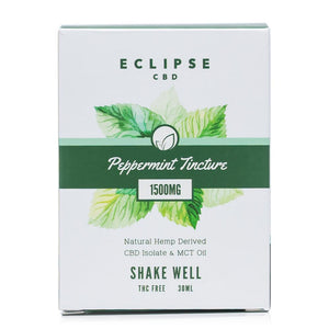 Eclipse CBD Peppermint Isolate Tincture 1500mg - Ultimate CBD