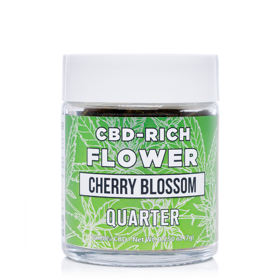 Erth Hemp Cherry Blossom CBD Flower 7 Grams - Ultimate CBD