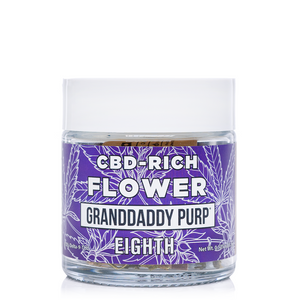 Erth Hemp Granddaddy Purp CBD Flower 3.5 Grams - Ultimate CBD