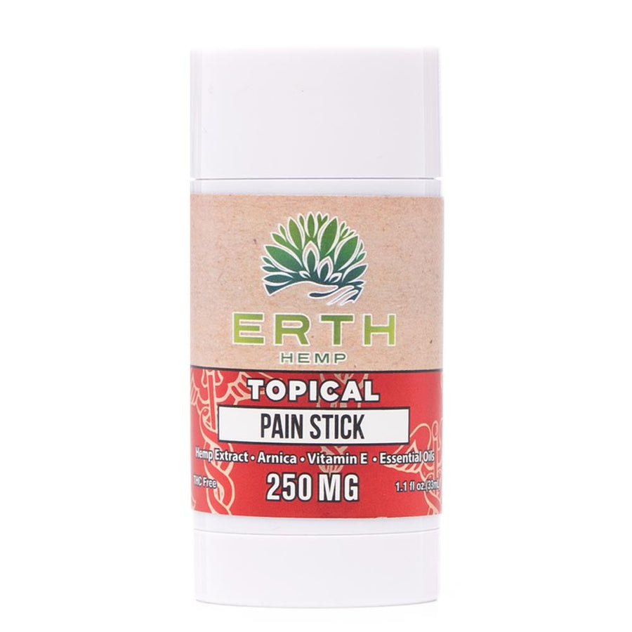 Erth Hemp Topical Pain Relief Stick 250mg - Ultimate CBD