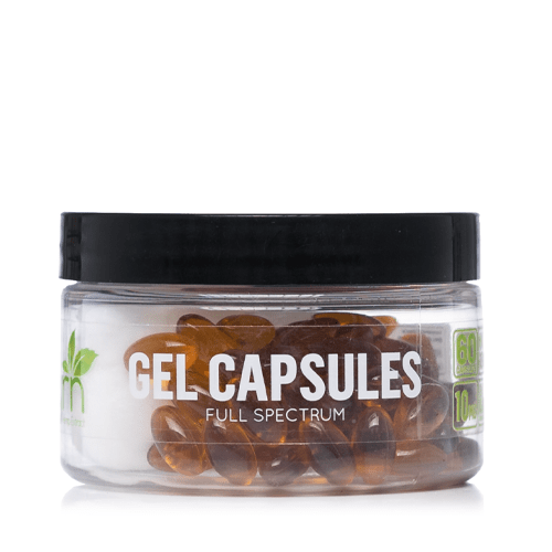 GRN CBD Gel Capsules 600mg - Ultimate CBD