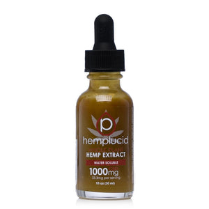 Hemp Lucid Water Soluble Tincture 1000mg - Ultimate CBD