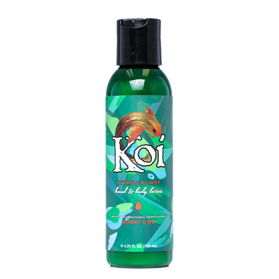 Koi CBD Citrus Burst Hand and Body Lotion 200mg - Ultimate CBD