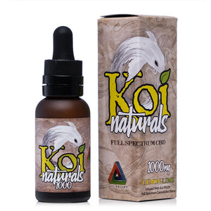 Koi CBD Naturals Lemon Lime Tincture 1000mg - Ultimate CBD