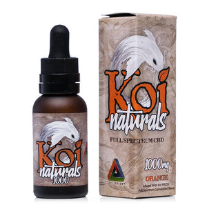 Koi CBD Naturals Orange Tincture 1000mg - Ultimate CBD