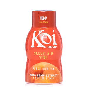 Koi CBD Peach Iced Tea Sleep-Aid Shot 25mg - Ultimate CBD