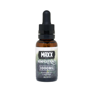 Maxx Meds Peppermint Tincture 1000mg - Ultimate CBD