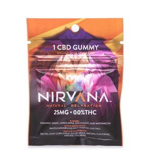 Nirvana CBD Gummies 25mg - Ultimate CBD