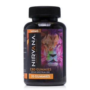 Nirvana CBD Gummies 500mg - Ultimate CBD