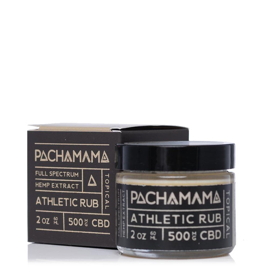 Pachamama CBD Athletic Rub 500mg - Ultimate CBD