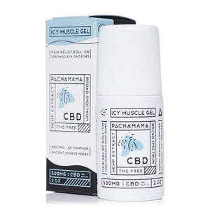 Pachamama CBD Icy Muscle Gel 500mg - Ultimate CBD
