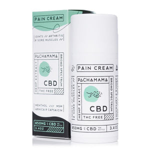 Pachamama CBD Pain Cream 850mg - Ultimate CBD