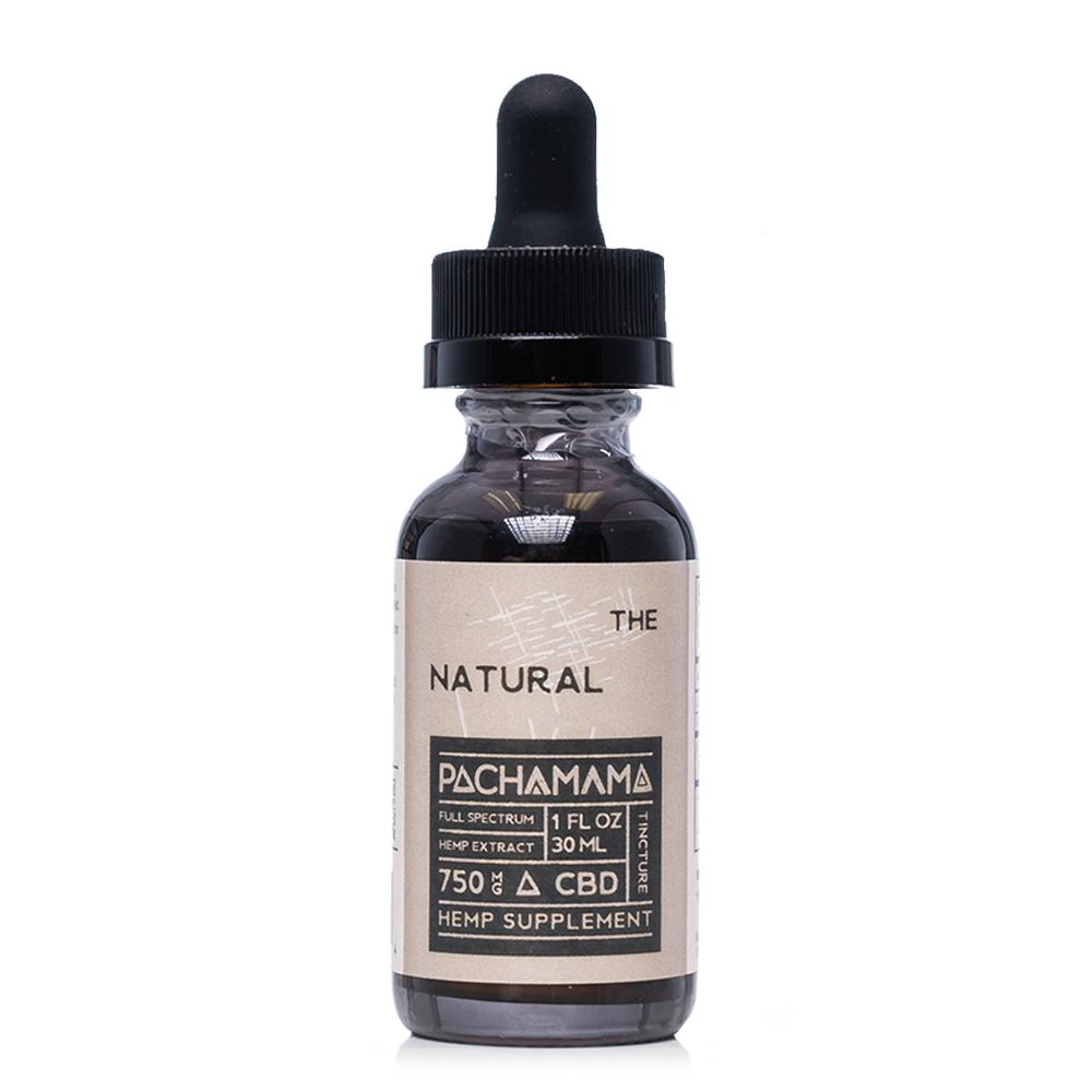 Pachamama CBD The Natural Tincture 750mg - Ultimate CBD
