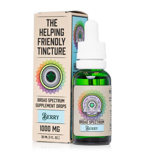 The Helping Friendly Berry Tincture 1000mg - Ultimate CBD