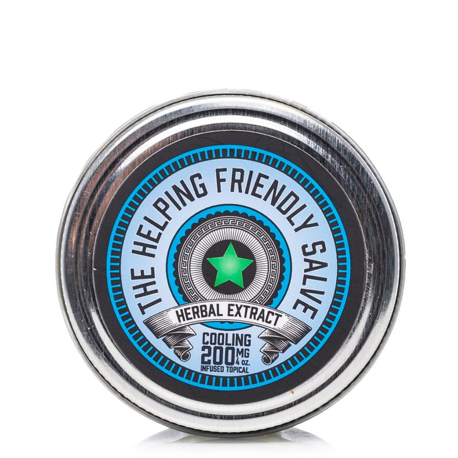 The Helping Friendly Cooling Salve 200mg - Ultimate CBD