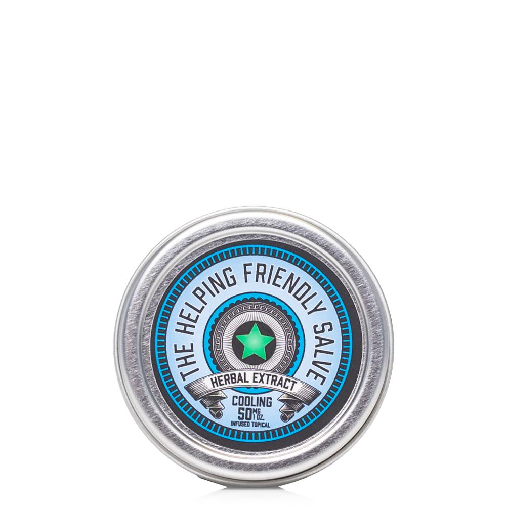 The Helping Friendly Cooling Salve 50mg - Ultimate CBD