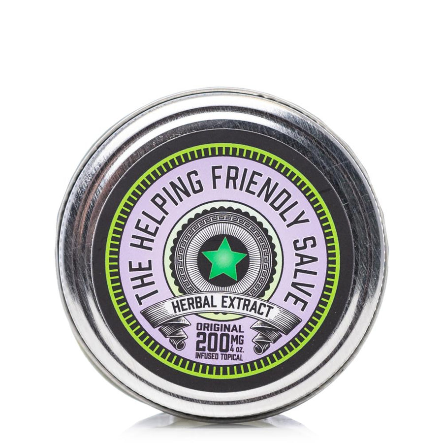 The Helping Friendly Original Salve 200mg - Ultimate CBD