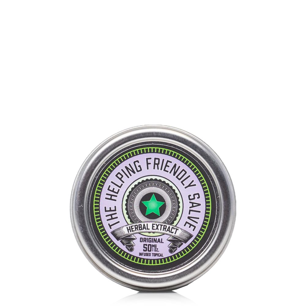 The Helping Friendly Original Salve 50mg - Ultimate CBD