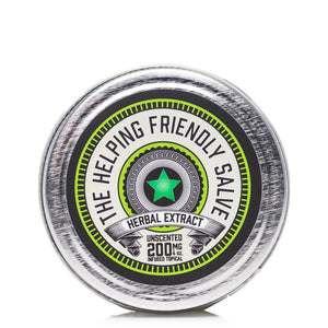The Helping Friendly Unscented Salve 200mg - Ultimate CBD