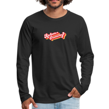 Load image into Gallery viewer, Radiate Positivity Men's Long Sleeve T-Shirt - black