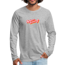 Load image into Gallery viewer, Radiate Positivity Men's Long Sleeve T-Shirt - heather gray