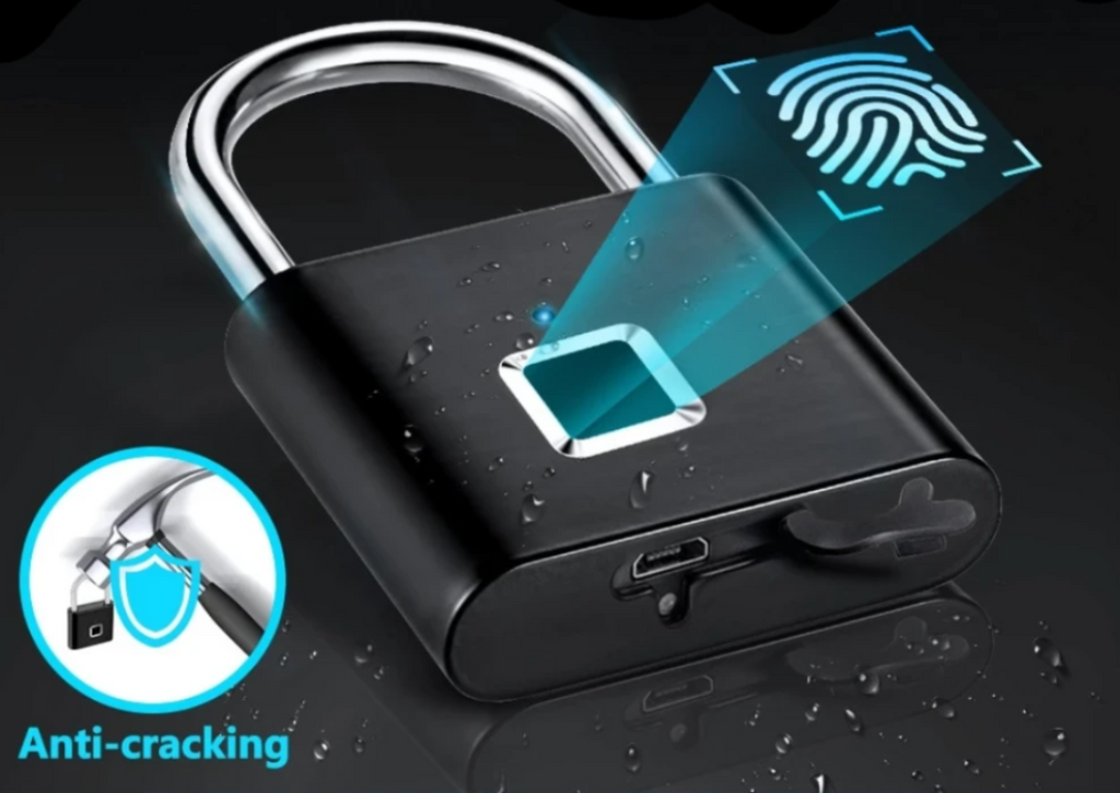 Smart Fingerprint Lock-USB Rechargable Waterproof Keyless Lock