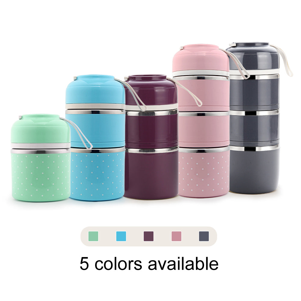 Stainless Steel Food Container Kitchen Lunchbox