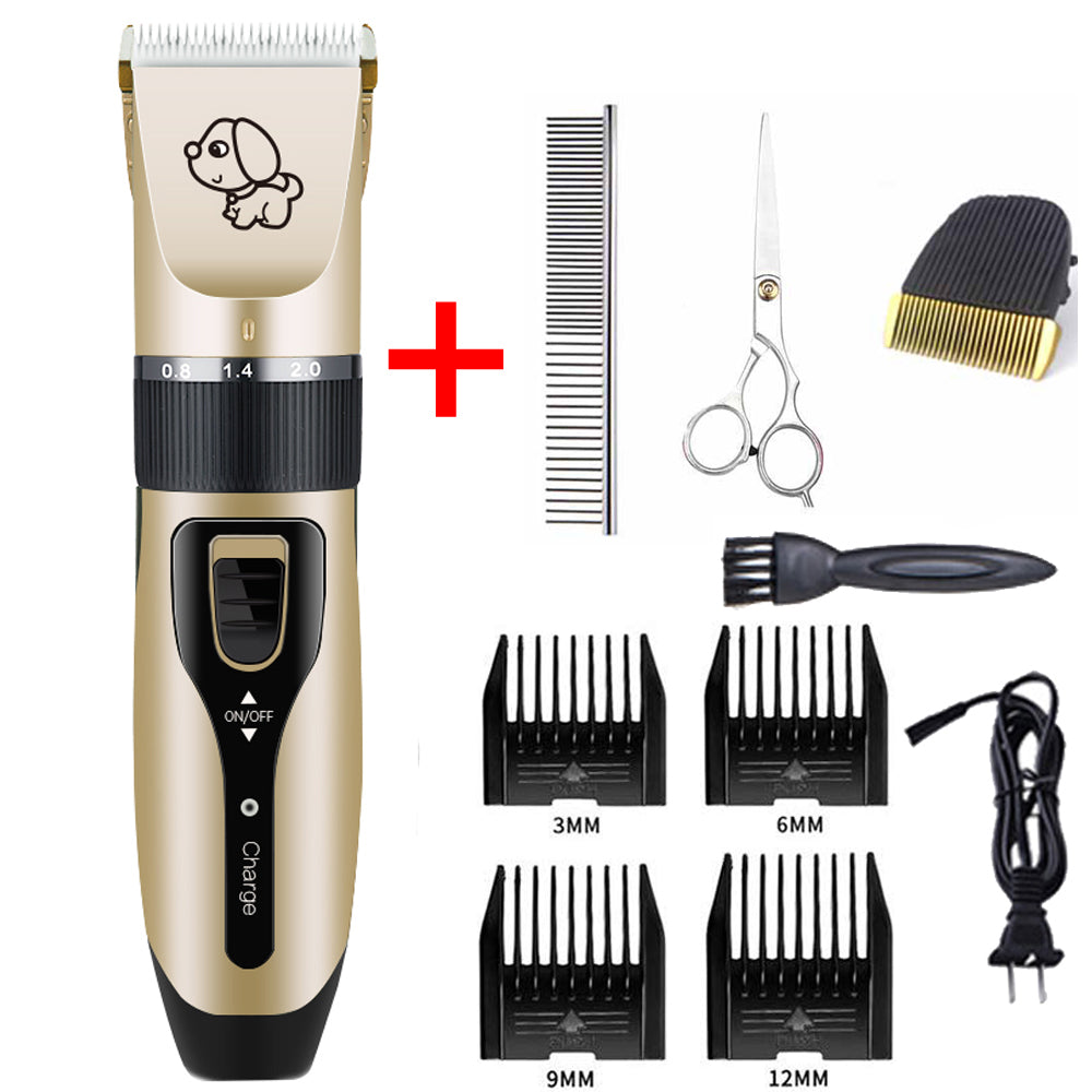 Rechargeable Low-noise Pet Hair Cutter Clipper Trimmer