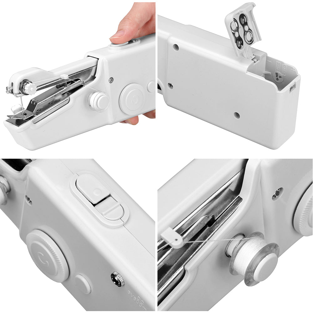 Portable Hand Sewing Machine Mini Cordless Sewing Machine
