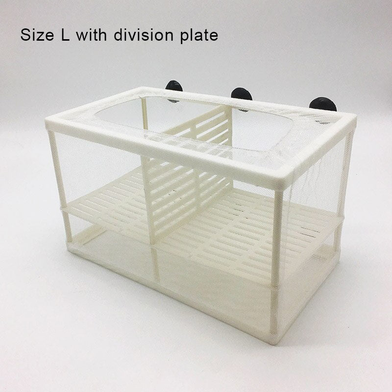 Breeding Isolation Fish Aquarium Tank Box