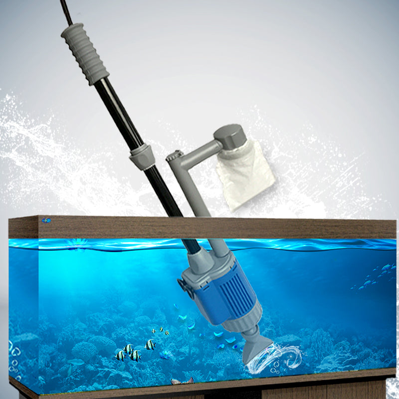 Electric Aquarium Gravel Cleaner Water Changing Pump