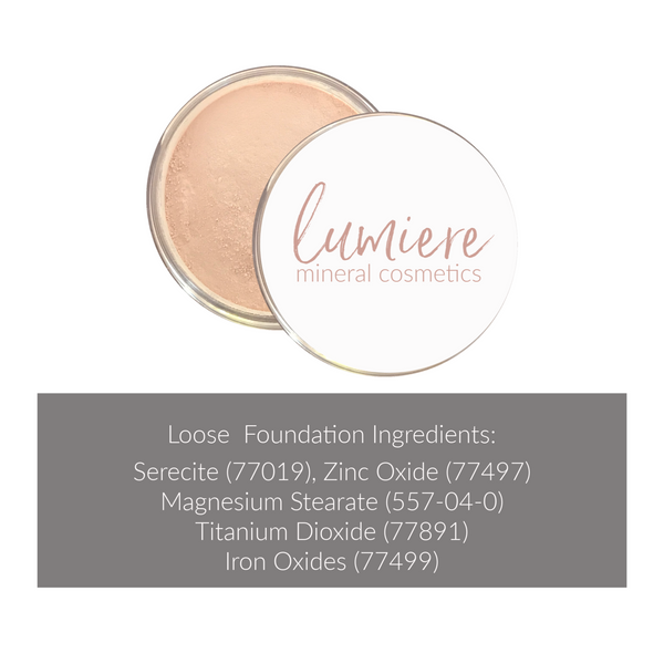 W3 Loose Mineral Foundation