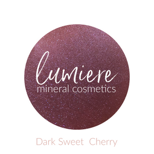 Dark Sweet Cherry Eyeshadow